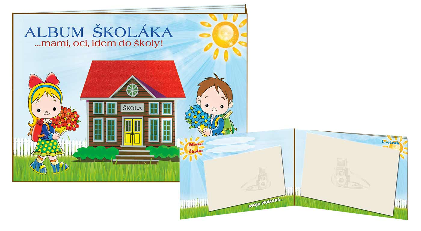 Ilustrovaný album pre školáka