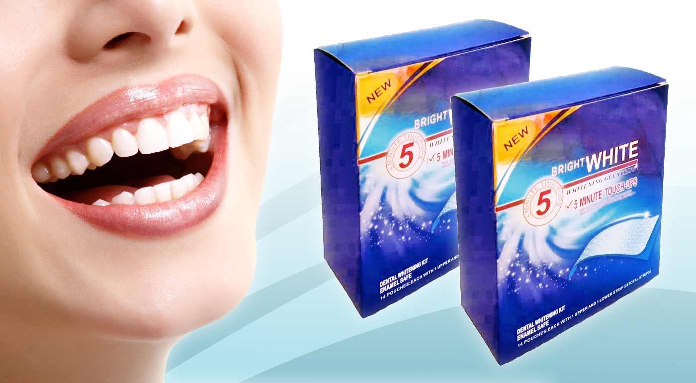 Bieliace pásiky Bright White pre žiarivý úsmev