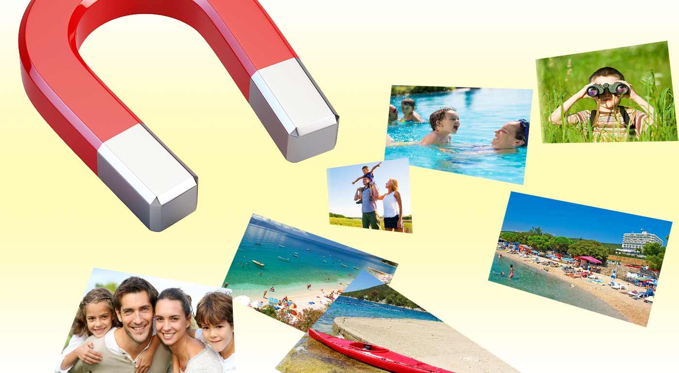 2 rovnaké magnetky cca 30 × 21 cm (A4) s rovnakou fotkou a grafikou za 10,70€