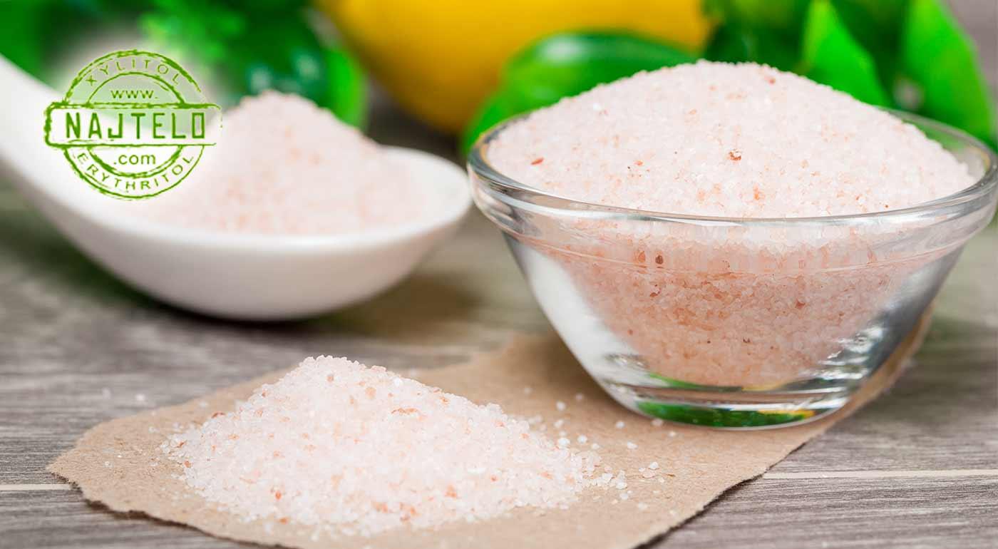 Jemne mletá Himalájska soľ pre zdravie