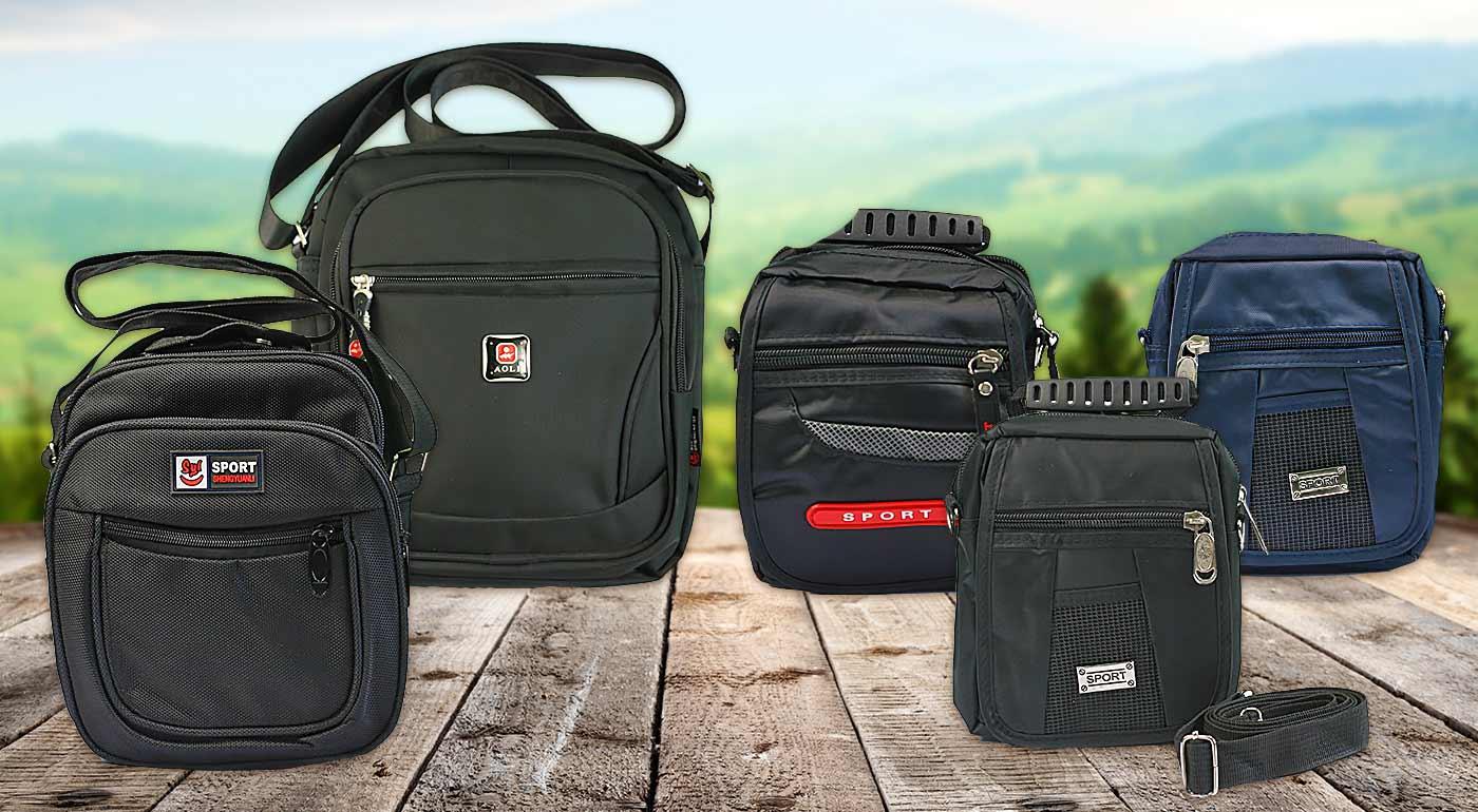 Odolné športové tašky pre pánov v troch rozmeroch