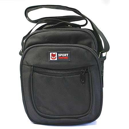 Stredne veľká pánska taška - farba čierna