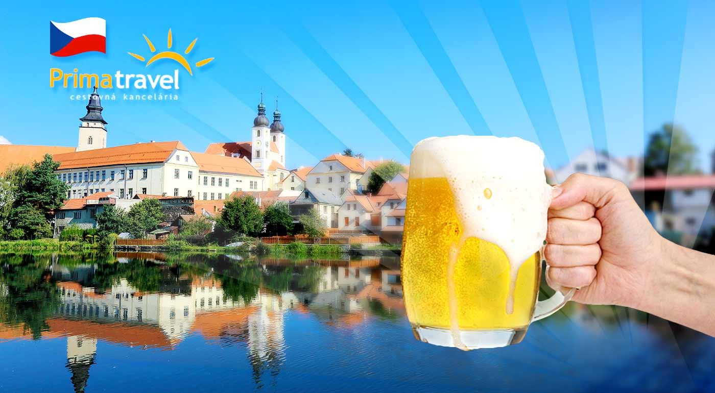 Nádherné zámky v južných Čechách s návštevou pivovaru. Čaká vás skvelý víkend u našich susedov
