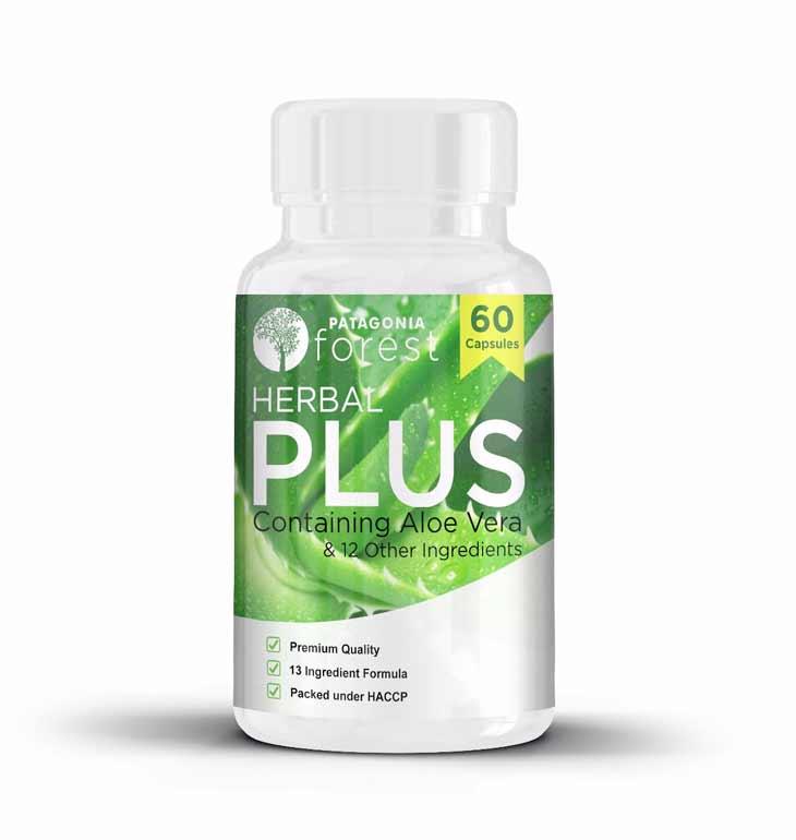 Herbal Plus komplex s výťažkom z aloe vera (balenie 60 kapsúl)
