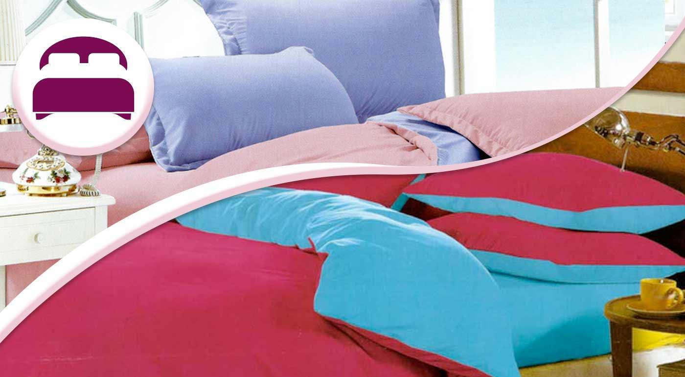 V jednoduchosti je krása - siahnite po obliečkach v nádherných farbách, balenie pre dvojlôžko s plachtou navyše