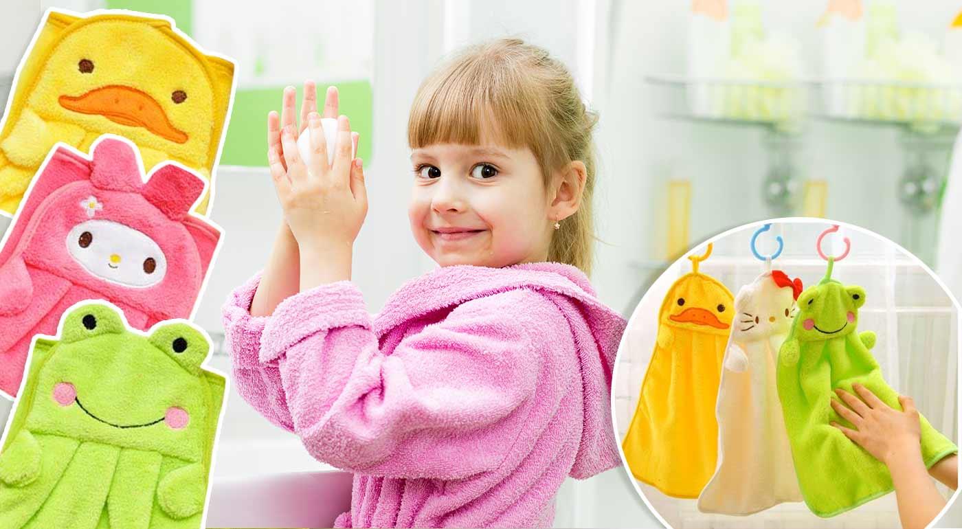 Uteráčiky v tvare zvieratiek pre vaše deti