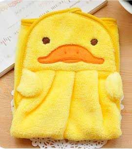 Detský uterák - žltý