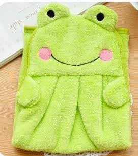 Detský uterák - zelený