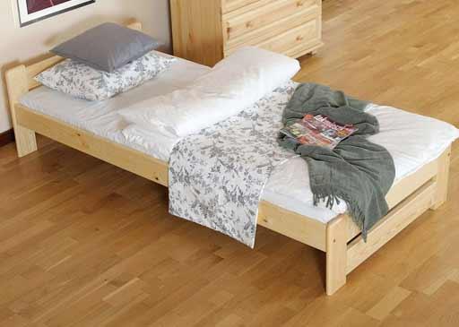 Posteľ Niva so zdravotným matracom a roštom - rozmery 90 x 200 cm, nosnosť 120 kg