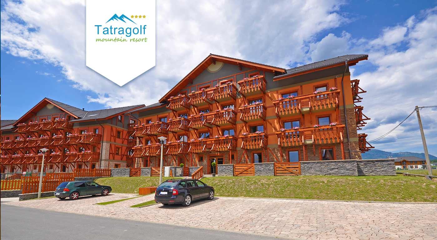 Vyberte sa na relaxačný pobyt do útulných apartmánov Tatragolf Mountain Resort vo Veľkej Lomnici pre dvoch.