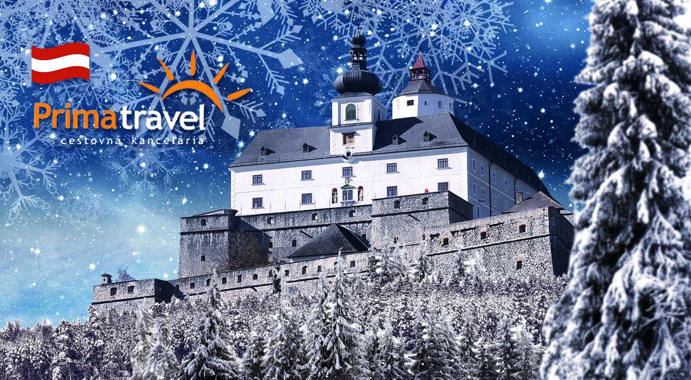 Vianoce na rakúskych hradoch a zámkoch