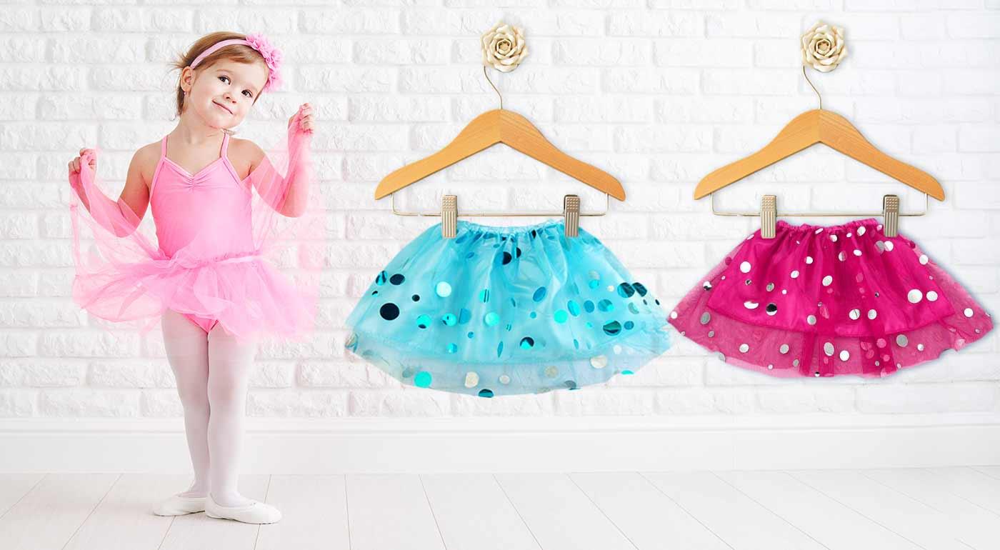 Milé detské sukničky pre dievčatká