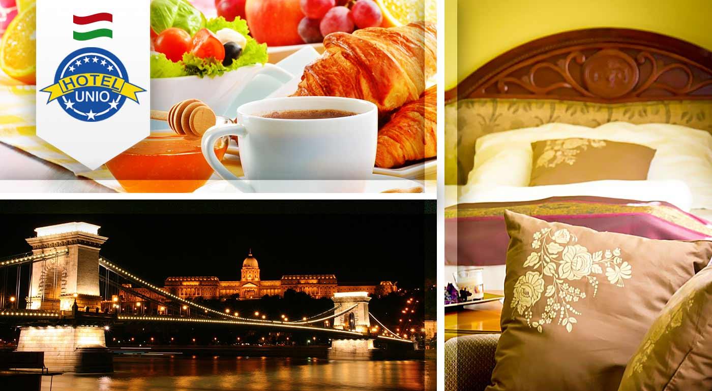 Urobte si výlet do Budapešti - City Hotel Unio*** Superior pre dvoch vrátane raňajok