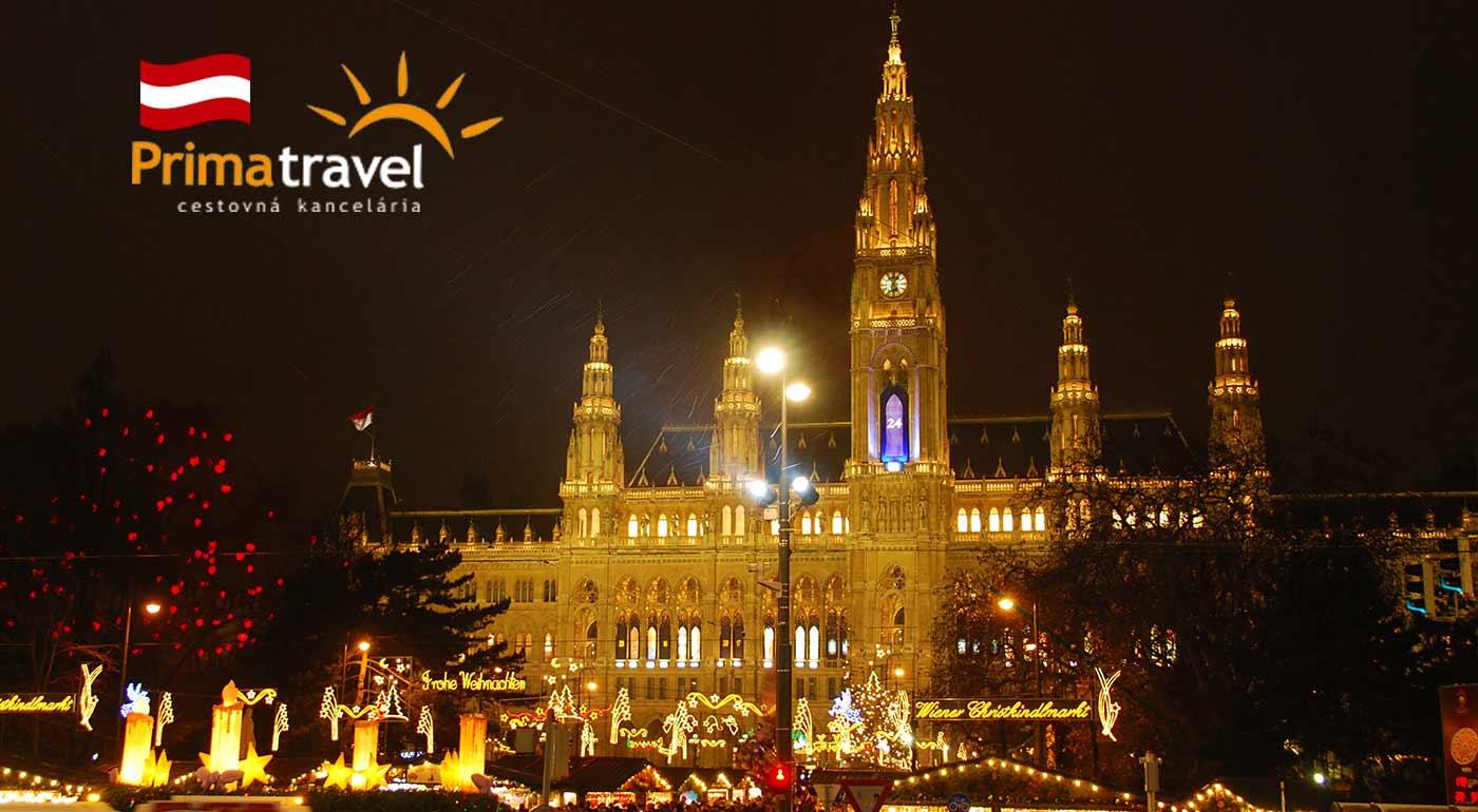 Vianočná Viedeň s prehliadkou pamiatok, návštevou najznámejších vianočných trhov a prehliadkou čokoládovne