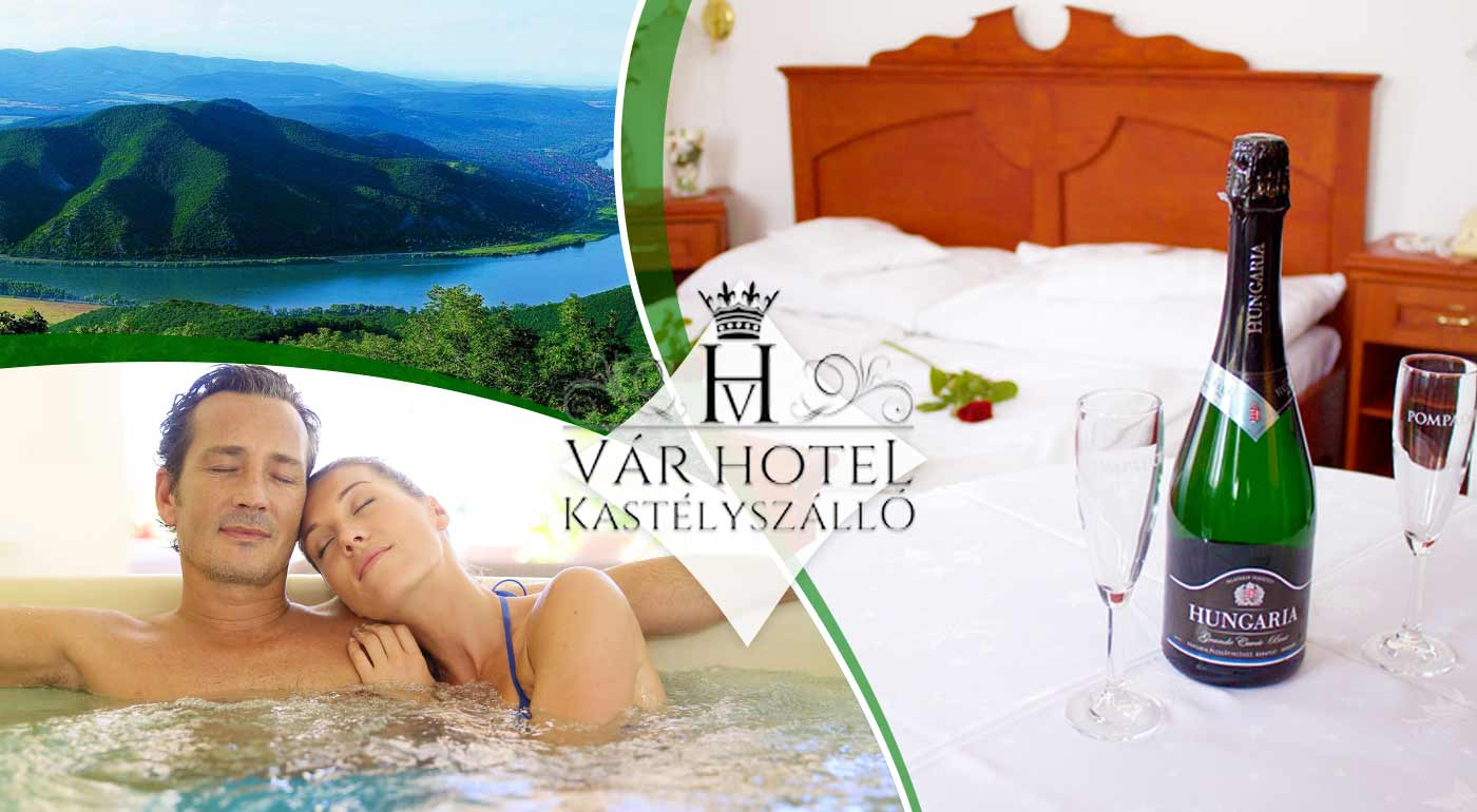 Užite si wellness oddych v exkluzívnom kaštieľovom hoteli Vár priamo v ohybe Dunaja