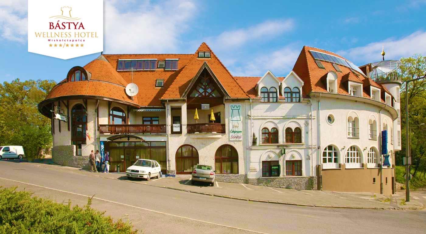 Jaskynné kúpele v maďarskom Bástya Wellness Hotel***/****