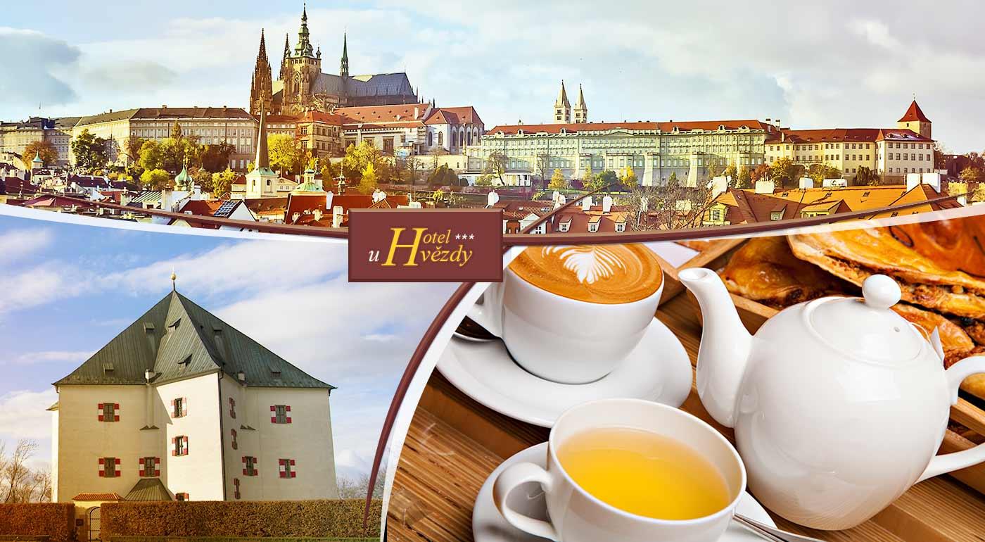 Atraktívny pobyt v Hoteli u hvězdy*** blízko historického centra Prahy