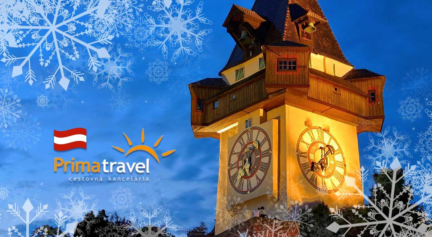 Ľadový betlehem v Grazi a nádherné vianočné trhy
