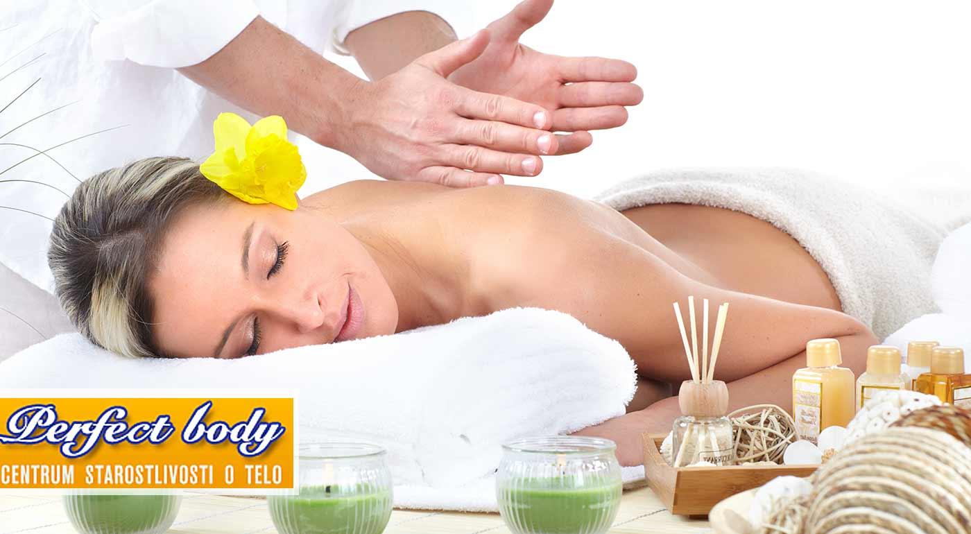 60-minútová celotelová masáž alebo 30-minútová masáž chrbta v Perfect Body