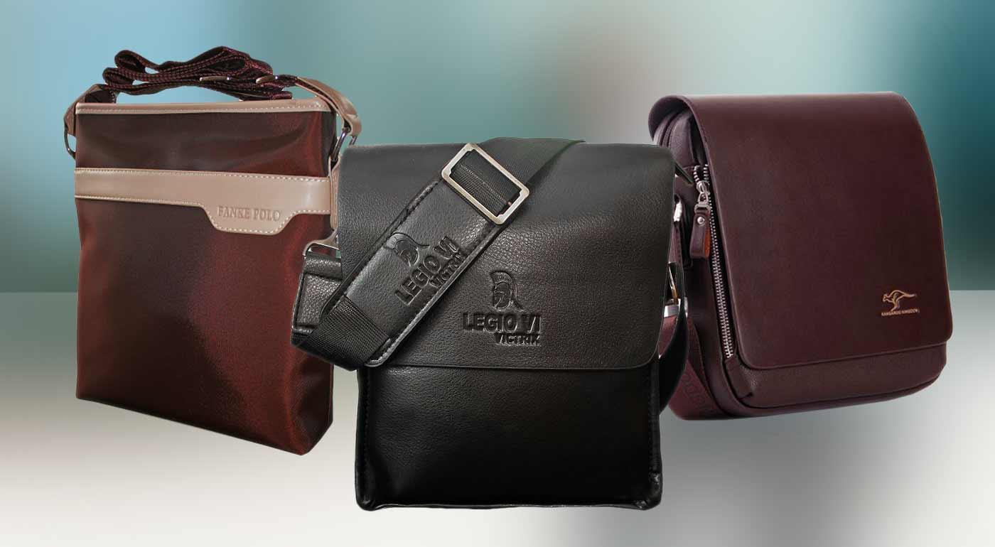 b6a2357f4a Elegantné tašky cez rameno urobia z každého muža šarmantného džentlmena