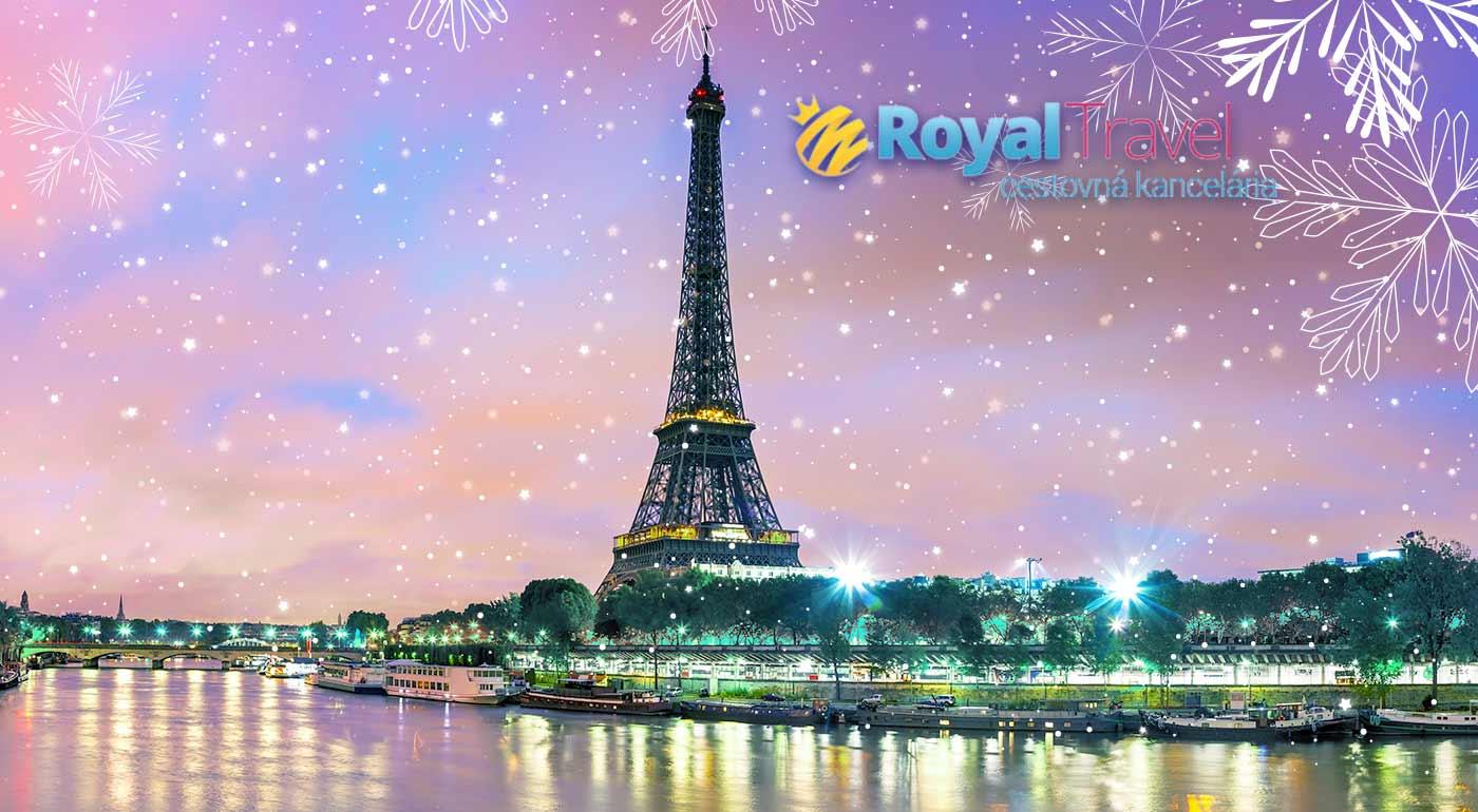 Advent v ligotavom Paríži - letecký zájazd na 4 dni vrátane všetkých letiskových poplatkov!