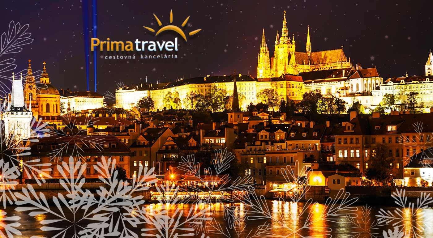 Vianočné trhy v stovežatej Prahe počas dvojdňového autobusového zájazdu s ubytovaním