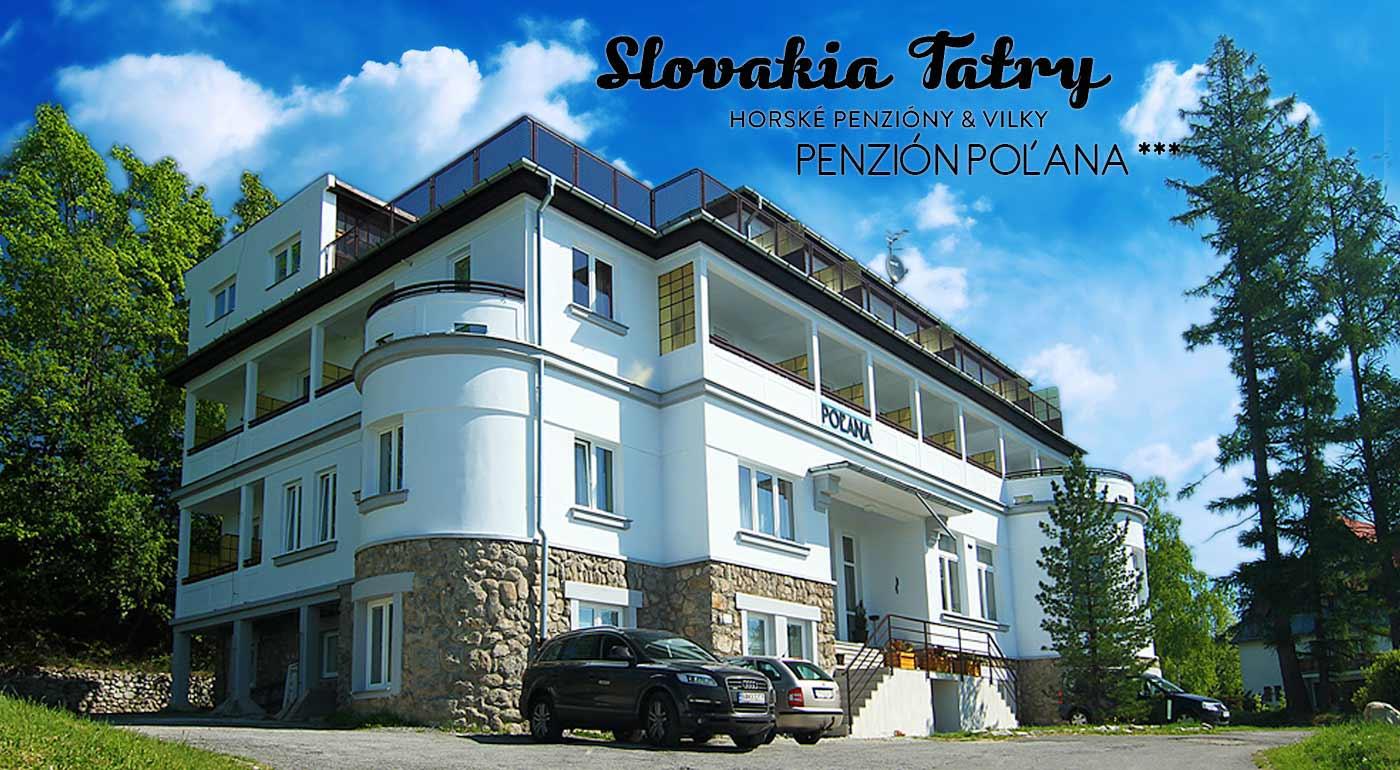 Penzión Poľana*** vo Vysokých Tatrách na 3 dni s polpenziou