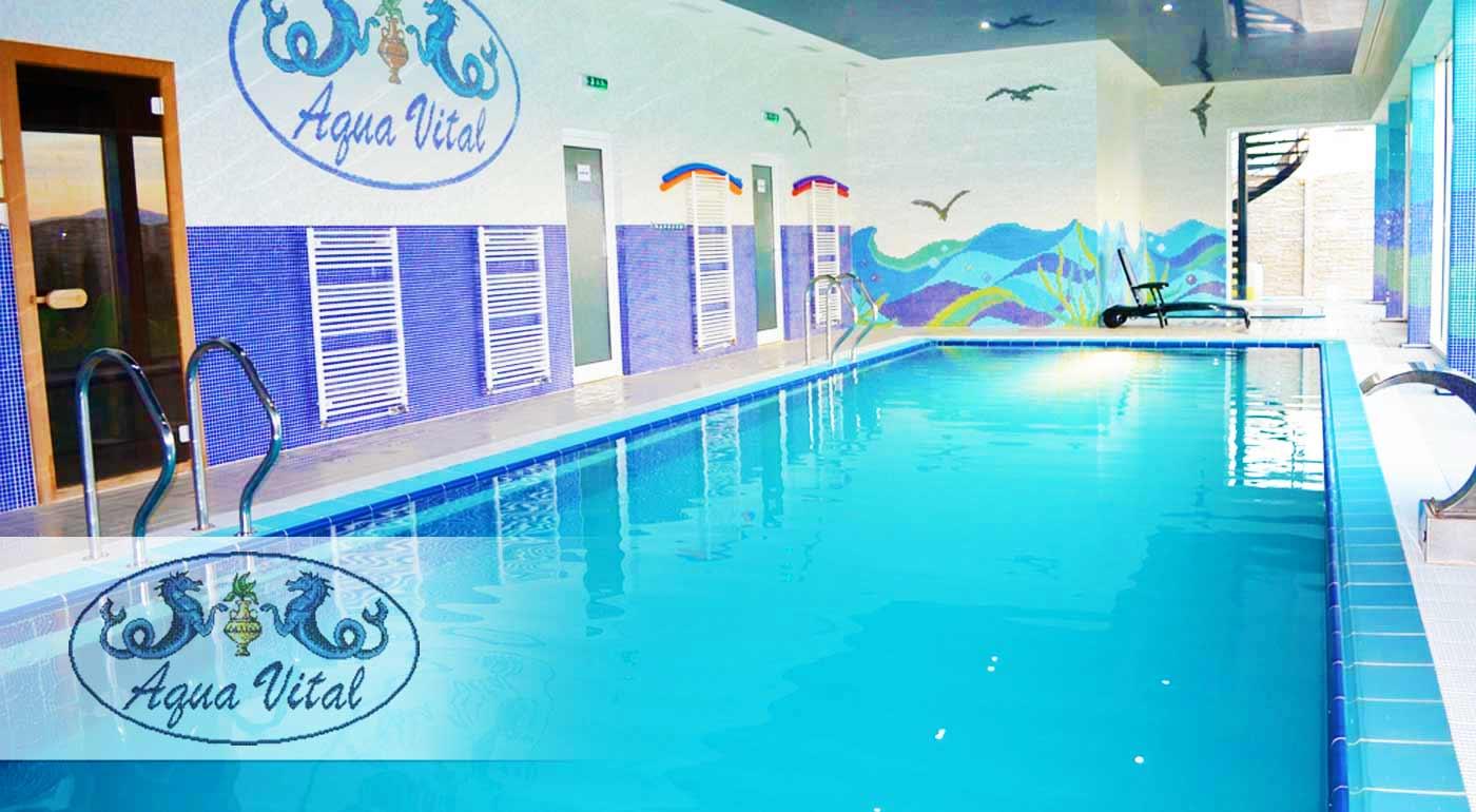 Užite si slastný wellness v Relax Centre Aqua Vital pri Bojniciach s neobmedzeným vstupom do vírivky, sauny či bazéna