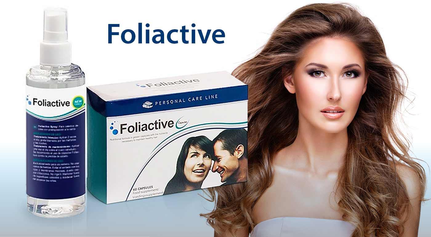 STOP vypadávaniu vlasov s prípravkami Foliactive - doplnok stravy alebo sprej.