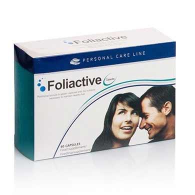 Foliactive pilulky proti vypadávaniu vlasov (60 kapsúl)