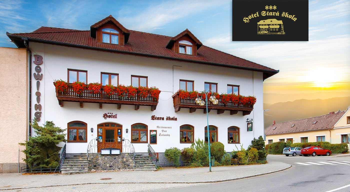 Navštívte Moravský Kras a ubytujte sa v pohodlí útulného Hotela Stará Škola***