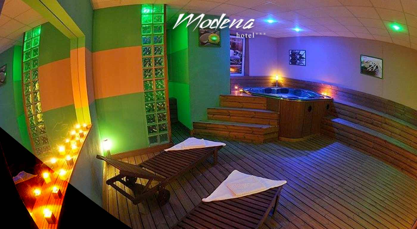 2-hodiny wellness zážitkov pre dvoch v Hoteli Modena*** v Bratislave