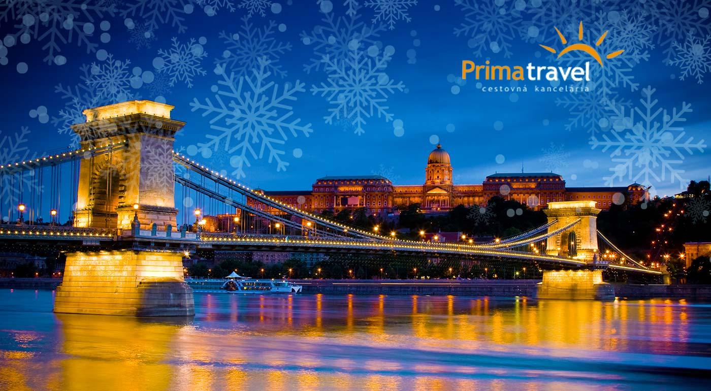 Vychutnajte si vianočnú atmosféru majestátnej Budapešti