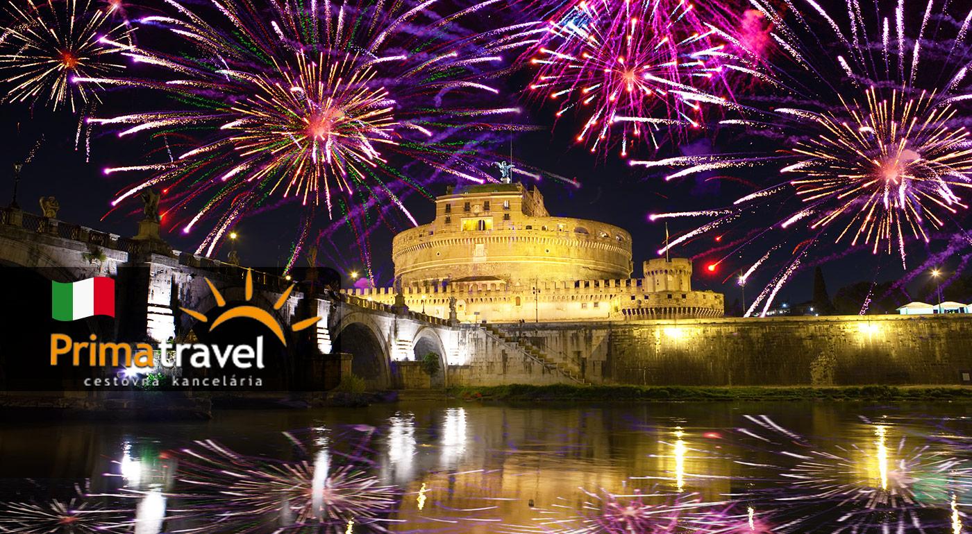 Oslávte Nový rok 2017 v Ríme a spoznajte históriu tohto mesta počas 5-dňového zájazdu