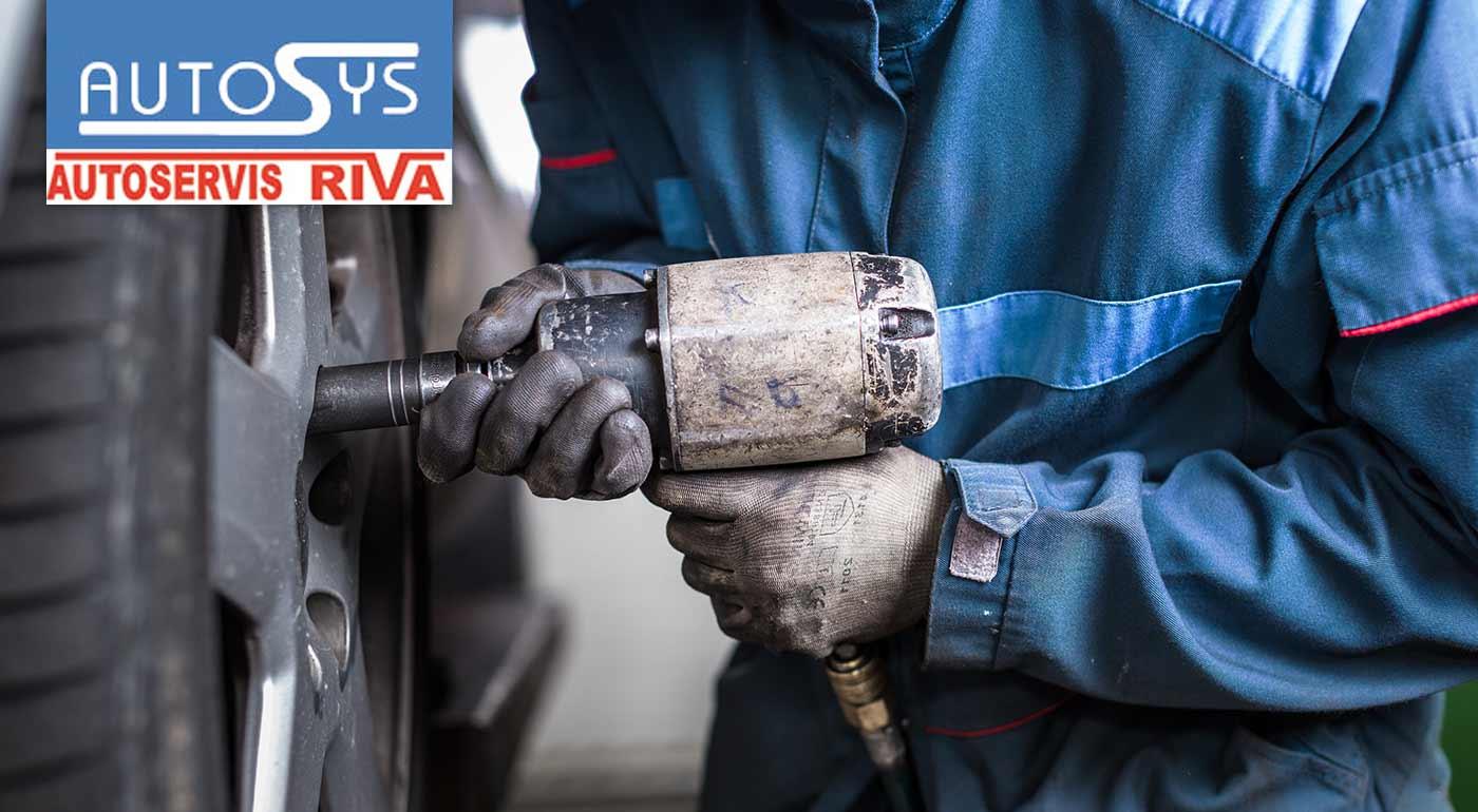 Zimné prezutie pneumatík a vyváženie kolies v bratislavskom Lamači