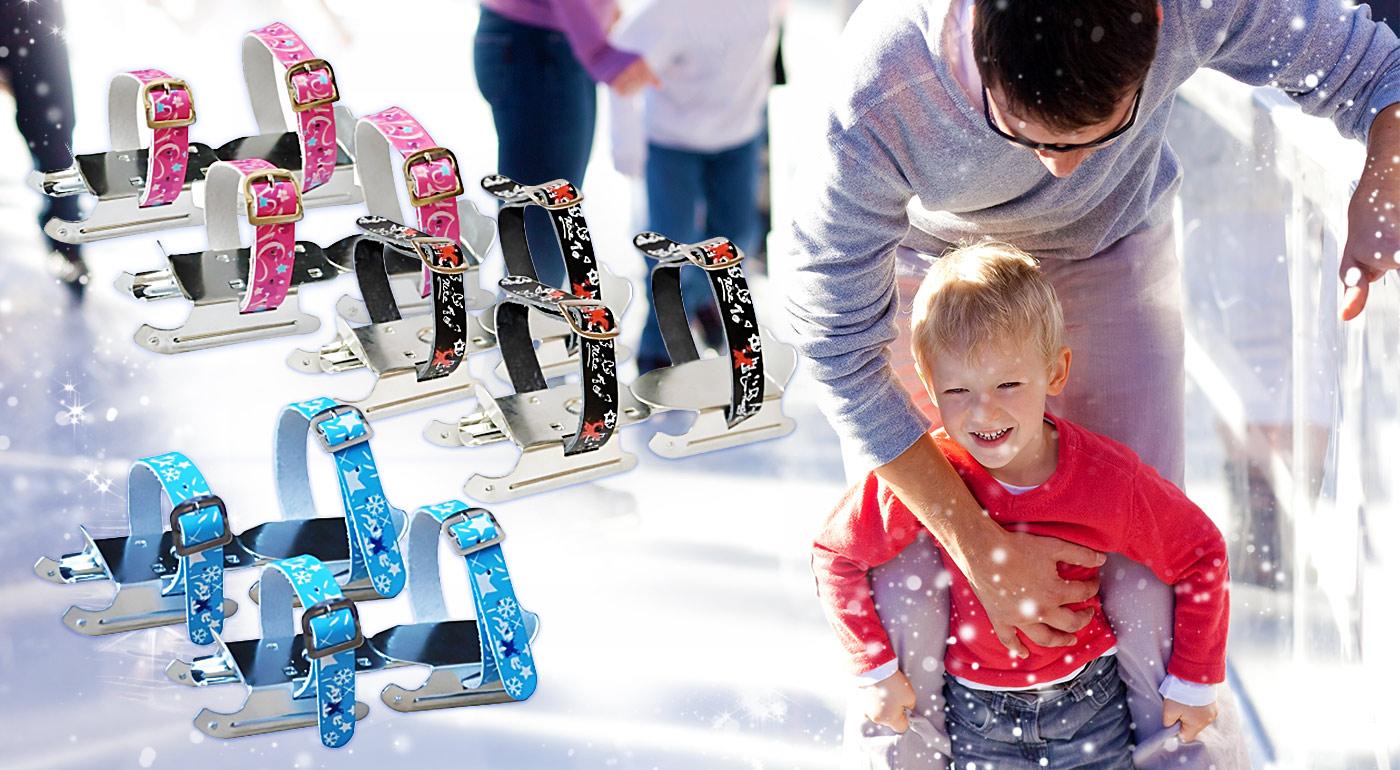 Na ľade ako po masle, no hlavne bezpečne s detskými korčuľami KAJTKI!