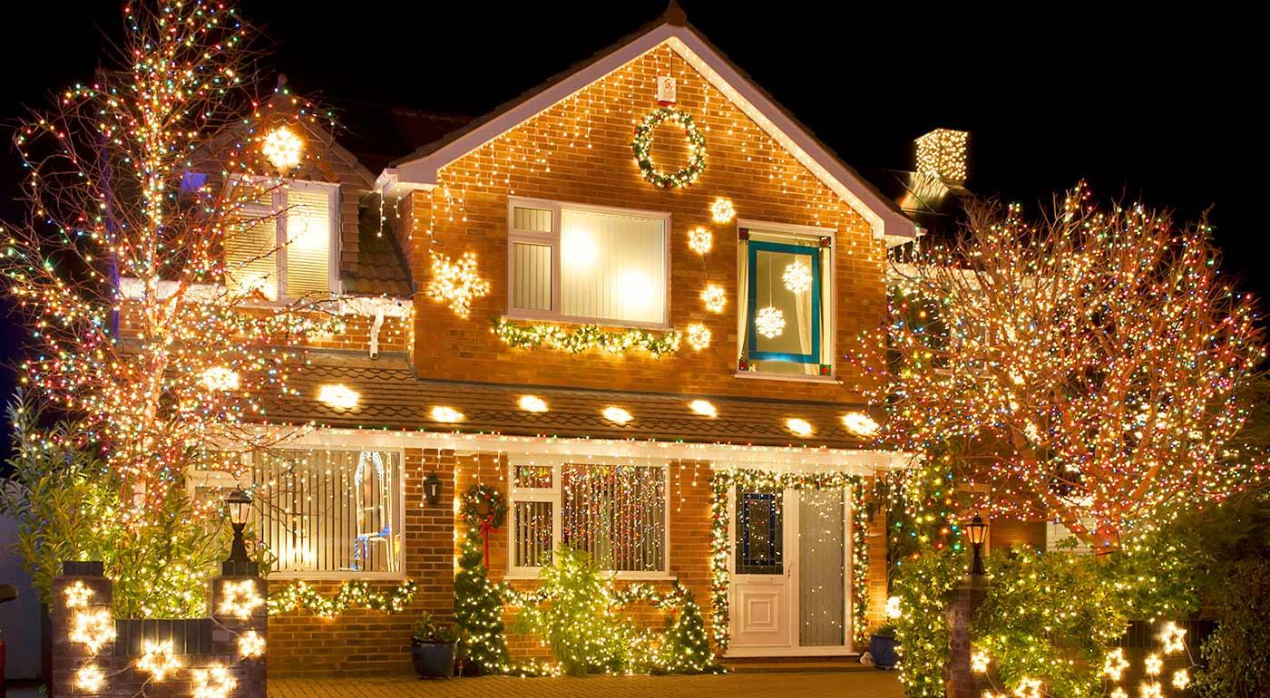 Vianočné LED osvetlenie do interéru i exteriéru