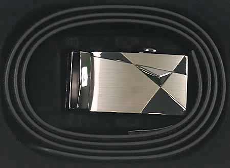 Pánsky kožený opasok - vzor 6