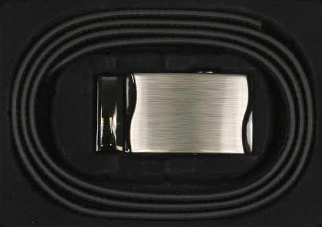 Pánsky kožený opasok - vzor 1