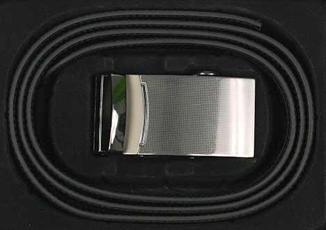 Pánsky kožený opasok - vzor 5