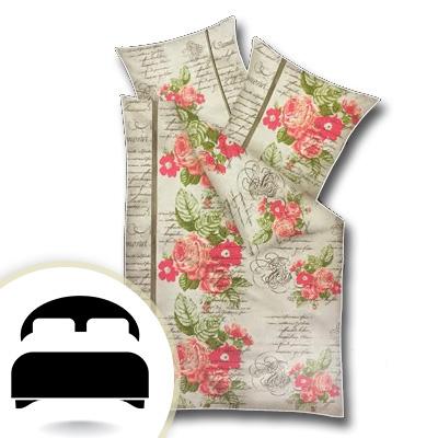 Obliečky pre dvojlôžko - model B ruže