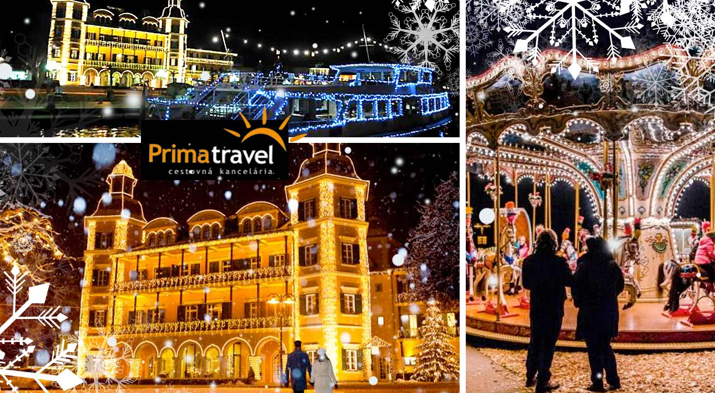 Alpský Advent - plavba po jazere Wörthersee, mesto anjelov Velden, vysvietený Graz a úžasný svet miniatúr Minimundus