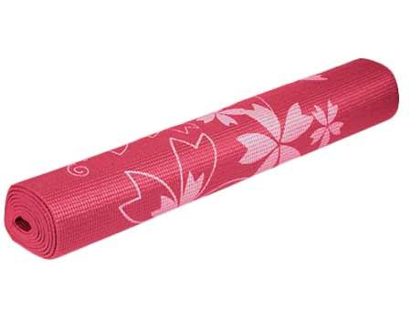 Karimatka na cvičenie - ružová s potlačou