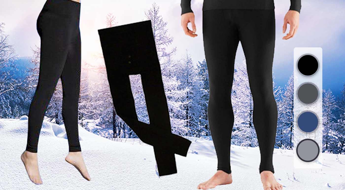 Dámske alebo pánske termo nohavice do chladných dní