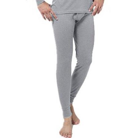 Pánske termo nohavice - farba šedá - veľkosť L