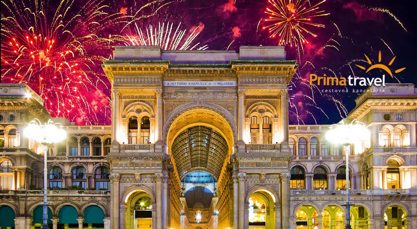 Vzrušujúce oslavy Nového Roka v Miláne s návštevou Bergama a Monzy počas 5-dňového zájazdu s CK Prima Travel
