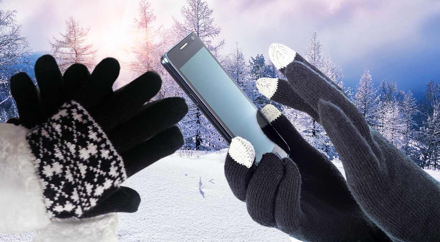 Šikovné rukavice na dotykové mobilné telefóny - pánske i dámske