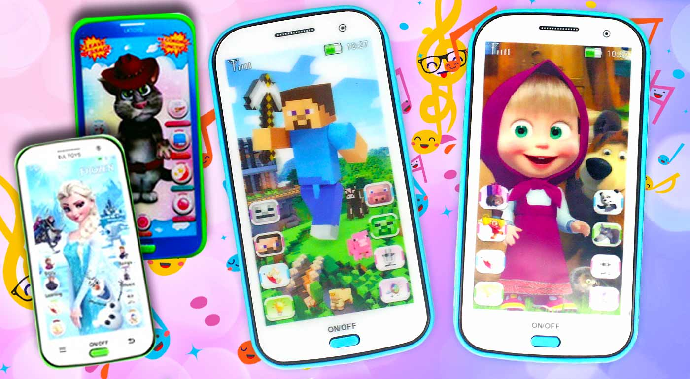 Detský mobilný telefón prehráva pesničky, svieti a naučí vaše deti angličtinu hravou formou
