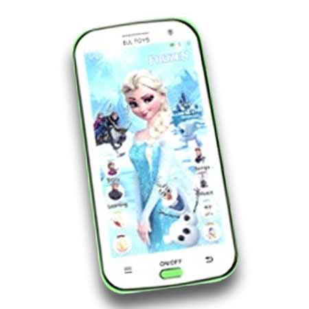 Detský mobilný telefón na výučbu angličtiny Frozen