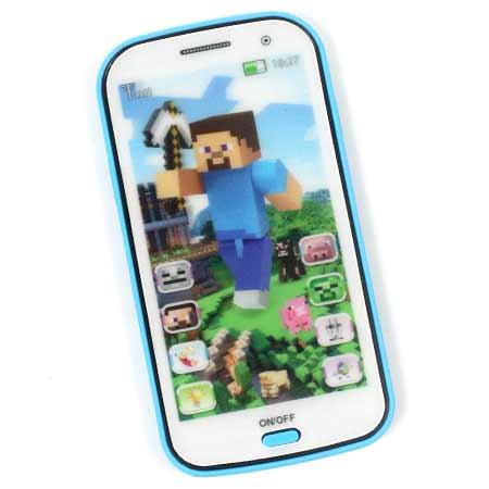 Detský mobilný telefón na výučbu angličtiny Minecraft